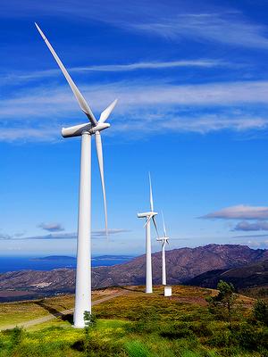 Energieerzeuger Windrad